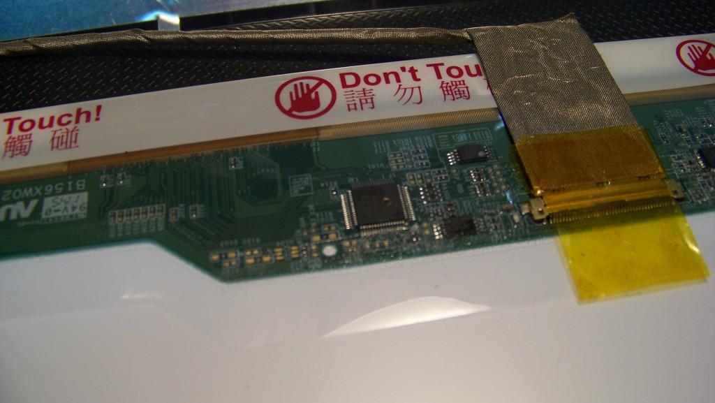 Випалена мікросхема AUO-11301