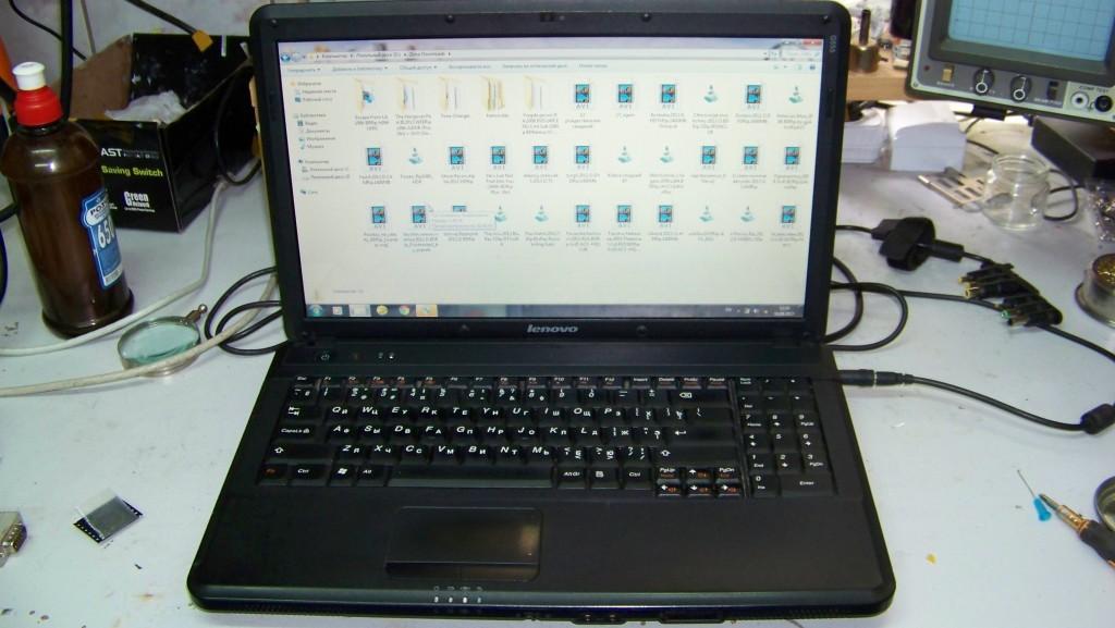 Ноутбук після ремонту